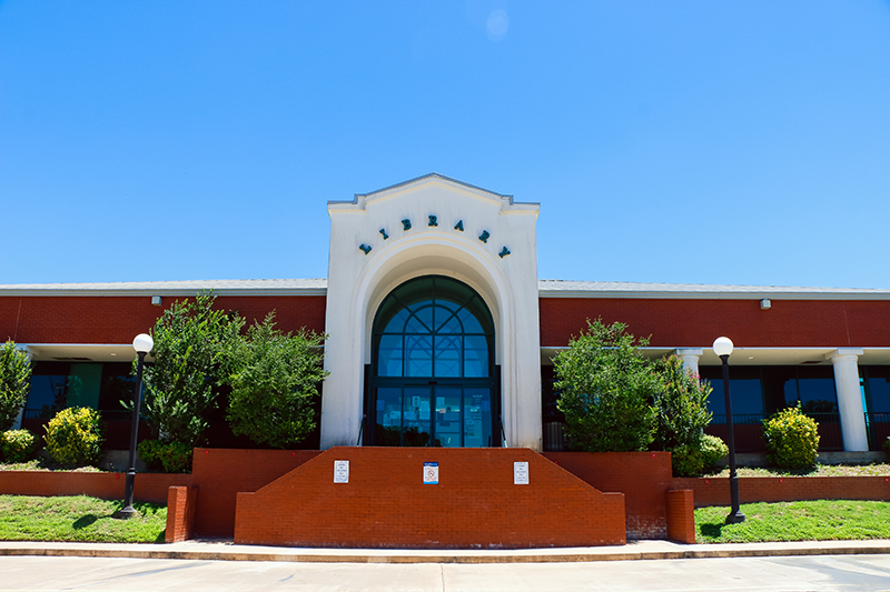 Choctaw County Public Library exterior