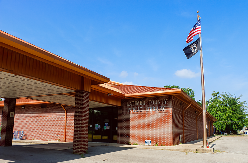 Latimer County Public Library exterior