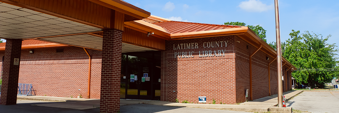 Latimer County Public Library exterior photo