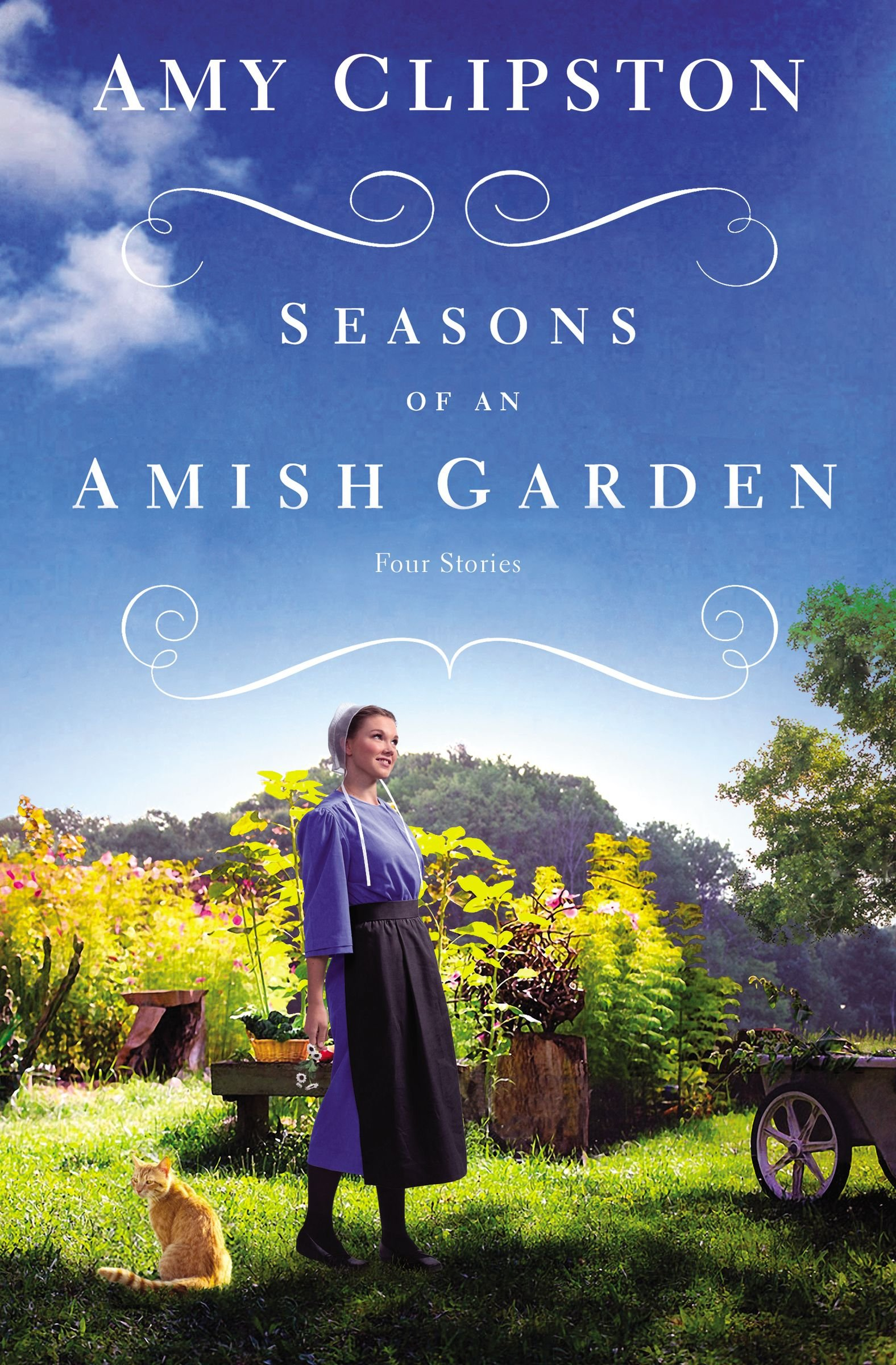 "Image for ""Seasons of an Amish Garden"""