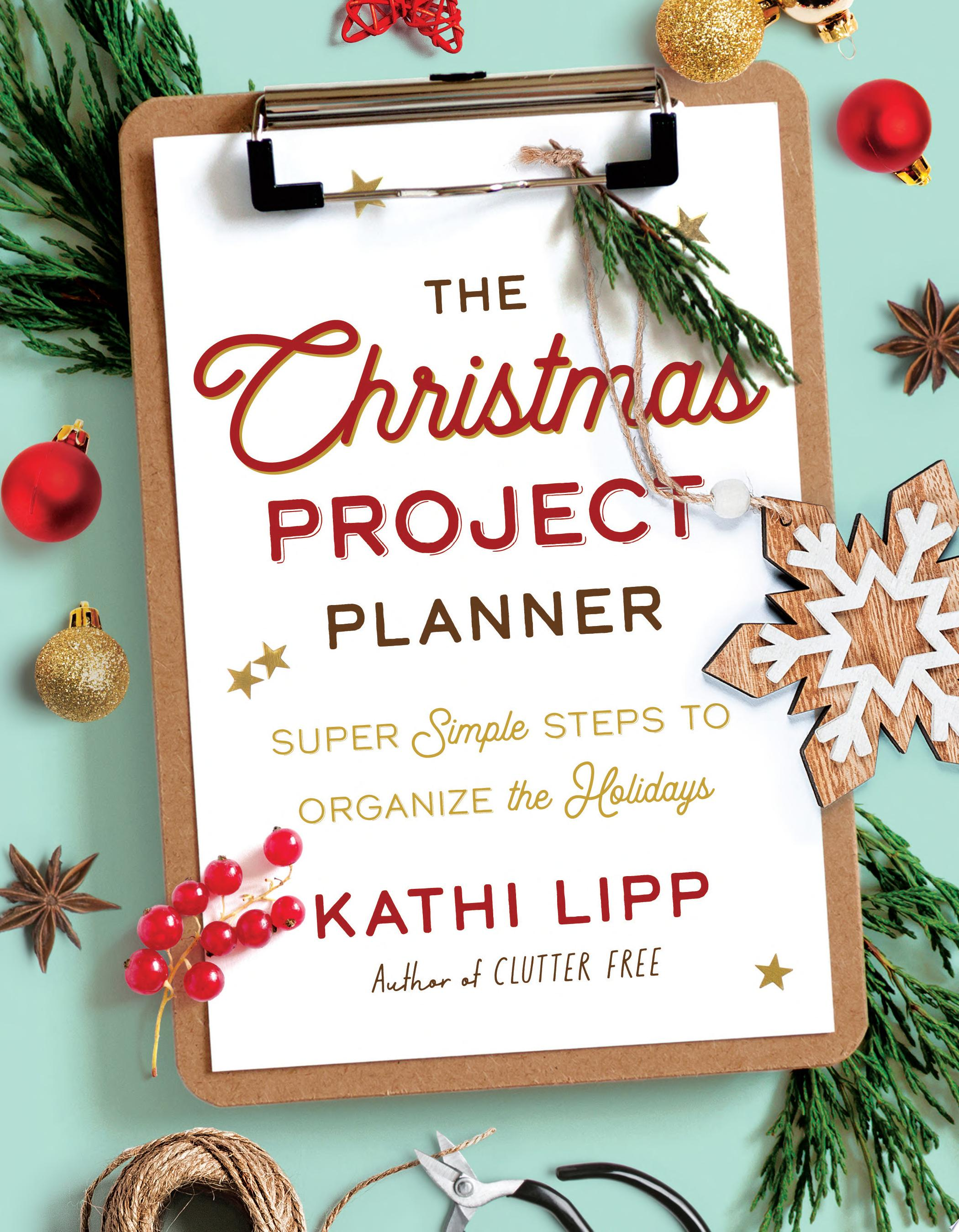 "Image for ""The Christmas Project Planner"""