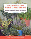 "Image for ""Complete Container Herb Gardening"""