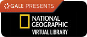 National Geographic Virtual Library button logo
