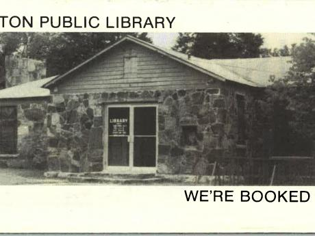 Historic Photo of Wilburton Public Library